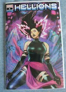 HELLIONS #9 LUCAS WERNECK Trade Dress Variant - Psylocke