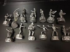 2005 LFL Star Wars Chess Gray Figures Lot of 13 (Replacement Pcs)