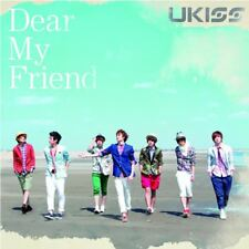 U-KISS-DEAR MY FRIEND-JAPAN CD BONUS TRACK Ltd/Ed B63