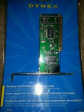 Dynex 10/100 Pci Network Card New Sealed