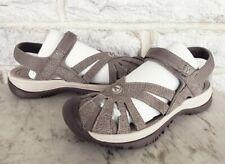 KEEN Womens Rose Waterproof Sandals 1016729 Size 6.5 Brindle Shitake $110 Vegan
