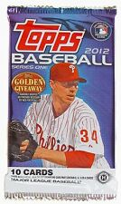 TOPPS BASEBALL 2012 SERIES ONE (1 SEALED PACK)!!