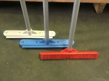 3 Pack - Sweepa Rubber Broom - indoor, outdoor, wet, dry