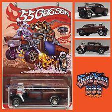 2016 Hot Wheels Super Treasure Hunt 55 Gasser CUSTOM Chevy Candy Junkyard Dog