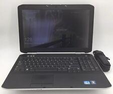 """Dell Latitude E5520 - 15.6"""" Laptop - Intel i5 @ 2.40GHz 4GB RAM 250GB HDD Win 10"""