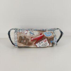 Airplane Handmade Wash Bag