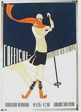 Original vintage poster EXPO VINTAGE POSTERS SKI SPORT 1995