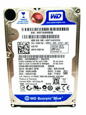 "LOT OF 10x 320GB 2.5"" Laptop Hard Drives Western Digital & Seagate WIPED&TESTED!"