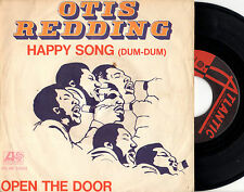 OTIS REDDING happy song / open the door 45RPM orig. red/black italian Atlantic