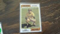 1974 TOPPS# 53 FRED KENDALL  BASEBALL CARD