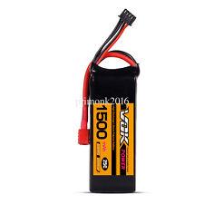 T-Plug 11.1V 1500mAh 25C 3S VOK Discharger Lipo Battery For RC Quad Aircrat