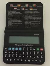 Electronic Collins 7 Language Speaking Translator/Personal Planner/Calculator