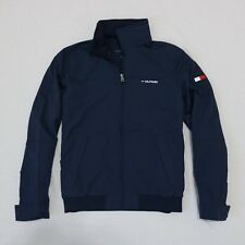 def5aeea Men's Tommy Hilfiger Yacht Jacket Outerwear Hoodie Waterstop Navy M L XL 2xl