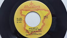 GRISELL Tu Llenas Mi Sur/Para Ti Aqui Estare '78 RARE LATIN POP BALLAD Alhambra