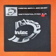 CHRISTIAN SMITH & JOHN SELWAY Metropolitan EP INTEC01 TZT  EP Vinyl VG++ Cvr VG+