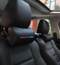 1x BMW /// M Autositz Kopf Nackenstütze weichem Schaum Kissen Leder Kissen Pad