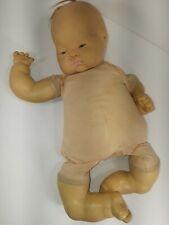 "Vogue Dolls 18"" Rare Baby Dear ""E. Wilkins 1960"" Top Knot Original Baby Doll"