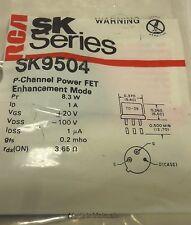 SK9504 / P CHANNEL FET / 3 PIECES /  (qzty)