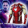 Avengers Spiderman Ironman Marvel Costume Play T-Shirts Compression Quick-Drying