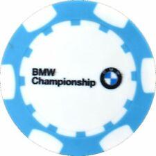 2019 BMW CHAMPIONSHIP (Medinah) Logo (BLUE) POKER CHIP Golf BALL MARKER