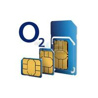 PAYG O2 MULTI SIM CARD FOR APPLE IPHONE X -  SENT SAME DAY 1ST CLASS POST