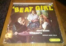 Beat Girl (Music from the Film) Vinyl LP Mono Record 33SX1225 VG+/VG+ John Barry