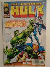 Marvel Incredible Hulk #449 (1997) 1st Thunderbolts Appearance, Peter David