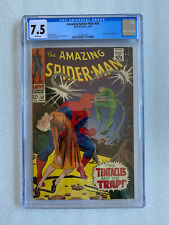 Amazing Spider-Man #54 7.5 CGC White Pages! 1967 - Doctor Octopus Appearance