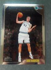 1998-99 Topps Chrome Dirk Nowitzki rookie Mavericks #154 Hot Card