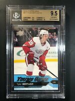 2016-17 Upper Deck Tyler Bertuzzi Young Guns Rookie BGS 9.5
