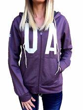 UNDER ARMOUR Jacket UA NWT ColdGear Logo Full Zip Hoodie S M L XL Pink Black