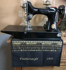 CUSTOM Singer Featherweight Sewing Machine Mat Sewing Quilting Accessory Storage