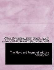 The Plays And Poems Of William Shakspeare: By William Shakespeare, James Bosw...
