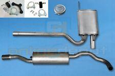 Komplette Auspuffanlage ab Kat AUDI A4 1.8 turbo 20V Avant Stufenheck 1994-2001
