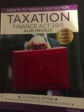 Taxation:Finance Act 2015: Finance Act 2015 (Paperback), Melville, Alan, 978129.