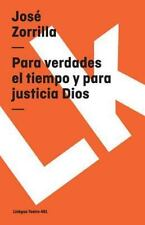 PARA VERDADES EL TIEMPO Y PARA JUSTICIA DIOS - NEW PRE-LOADED AUDIO PLAYER BOOK