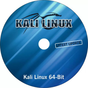 KALI LINUX 64BIT 2020 EDITION ON BOOTABLE DVD 600+ HACKING TOOLS