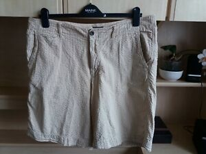 """New NWT mens club room 9/"""" estate shorts with canvas belt 06-18"""