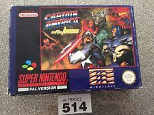 Super Nintendo Snes Captain America And The Avengers