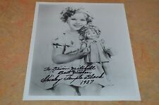 VINTAGE SHIRLEY TEMPLE SIGNED 8X10 PHOTO!!! MUST SEE!!!