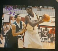 TYREKE EVANS SIGNED 8X10 PHOTO HS SHOT NBA PACERS KINGS W/COA+PROOF RARE WOW