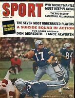 Sport Magazine January 1967 Don Meredith VG No ML 020817jhe