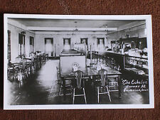 "Garnavillo IA/""The Echelon"" Cafe Interior-Booths-Counter-Cigars/RPPC/Unposted"