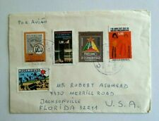 Postal History, Mozambique, 1977, Commercial Cover, Excellent