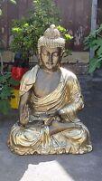 Buddha Glückbuddha Groß Figur Lebensgroß Statue Dekoration Möbel Skulptur Deko