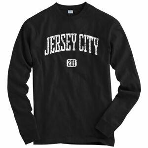 Jersey City 201 Long Sleeve T-shirt - NJ New Jersey Liberty - LS - Men / Youth