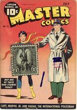 Master Comics #52 Photocopy Comic Book, Captain Marvel Jr., Bulletman