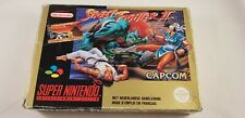 * Super Nintendo * Street Fighter II * RARE * PAL FAH * SNES * Boxed *