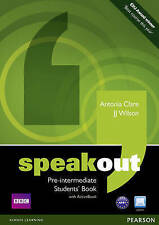 Speakout Pre-Intermediate Students book and DVD/Active Book Multi Rom Pack, Wils