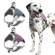 Step-in Reflective Large Dog Harness Front Leading Non-pull Soft Doggie Vest